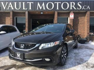 Used 2013 Honda Civic Touring NO ACCIDENTS ONE OWNER VEHICLE for sale in Brampton, ON