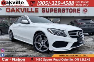 Used 2016 Mercedes-Benz C-Class C300 4MATIC | NAVI | B/U CAM | PANO ROOF | AMG PKG for sale in Oakville, ON
