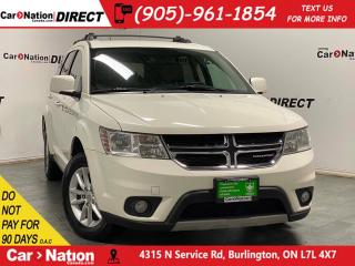 Used 2015 Dodge Journey SXT| PUSH START| 7-PASSENGER| for sale in Burlington, ON
