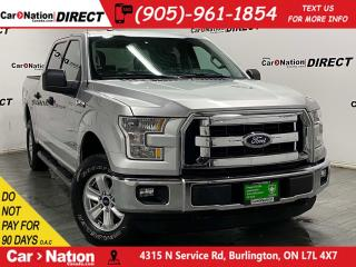 Used 2016 Ford F-150 XLT| 4X4| WE WANT YOUR TRADE| for sale in Burlington, ON