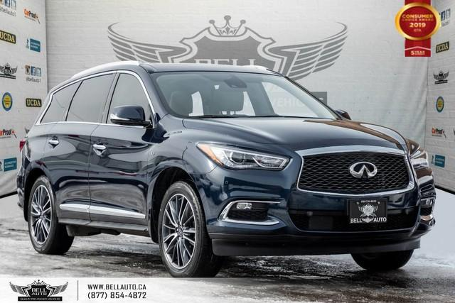 2017 Infiniti QX60 AWD, NO ACCIDENT, 7 PASS, V6, NAVI, 360 CAM, SENSORS
