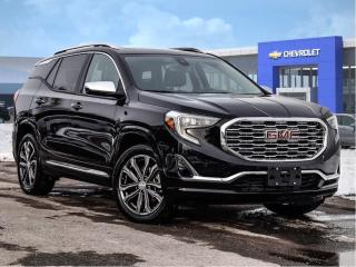 Used 2018 GMC Terrain Denali-GM CERTIFIED PRE-OWNED-ONER OWNEER for sale in Markham, ON