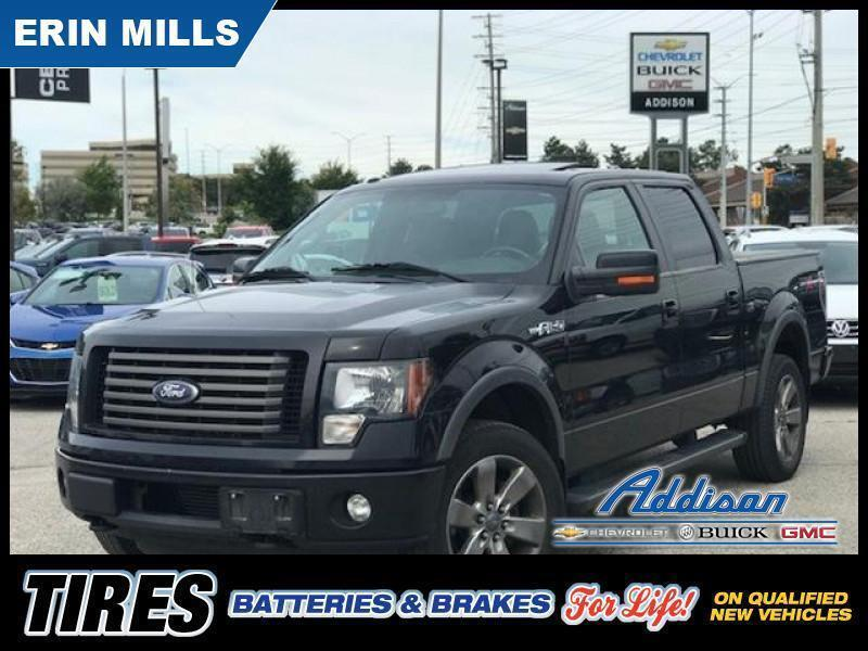 Erin Mills Ford >> Used 2011 Ford F 150 Fx4 Supercab 4wd Heated Leather Sunroof
