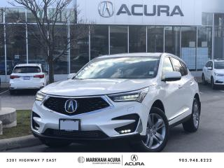 Used 2019 Acura RDX Platinum Elite at for sale in Markham, ON