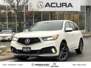 Used 2019 Acura MDX A-Spec for sale in Markham, ON