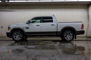 Used 2018 RAM 1500 4x4 Crew Cab Longhorn Leather Roof Nav for sale in Red Deer, AB
