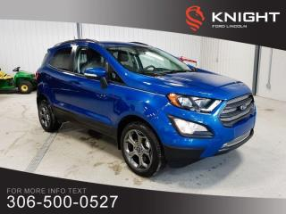 Used 2018 Ford EcoSport SES for sale in Moose Jaw, SK