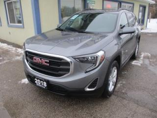 Used 2018 GMC Terrain ALL-WHEEL DRIVE SLE MODEL 5 PASSENGER 1.4L - TURBO.. NAVIGATION.. HEATED SEATS.. PANORAMIC SUNROOF.. BACK-UP CAMERA.. BLUETOOTH SYSTEM.. for sale in Bradford, ON