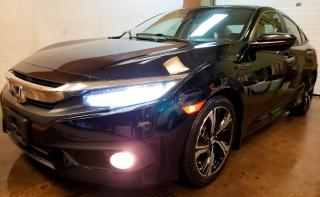 Used 2017 Honda Civic Touring TURING|1 OWNER|NAVI|LEATHER|CAMERA||CERTIFIED for sale in Concord, ON