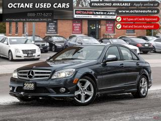 Used 2008 Mercedes-Benz C-Class C-300 Accident-Free! Certified In This Price! for sale in Scarborough, ON