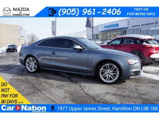 Used 2016 Audi A5 TECHNIK | LEATHER | NAV | PANO ROOF | S LINE PKG for sale in Hamilton, ON