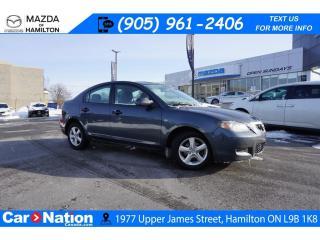 Used 2009 Mazda MAZDA3 AS-TRADED | ALLOYS | CLIMATE CONTROL for sale in Hamilton, ON