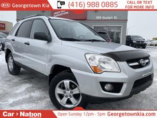Used 2009 Kia Sportage LX V6 ALLOY WHEELS FOGS  PWR GROUP FULLY SERVICED for sale in Georgetown, ON