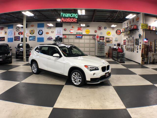 2015 BMW X1 XDRIVE AUT0 AWD LEATHER PANO/ROOF BLUETOOTH 81K