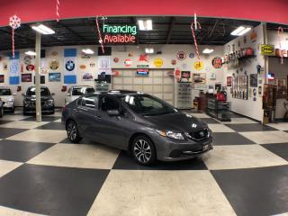 Used 2015 Honda Civic Sedan EX AUT0 A/C SUNROOF BACKUP CAMERA BLUETOOTH 66K for sale in North York, ON