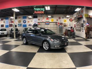 Used 2016 Volkswagen Passat 1.8 TSI HIGHLINE AUT0 NAVI LEATHER SUNROOF CAMERA 91K for sale in North York, ON