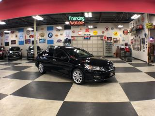 Used 2015 Honda Accord Sedan TOURING MANUAL NAVI LEATHER SUNROOF CAMERA 110K for sale in North York, ON