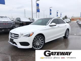 Used 2015 Mercedes-Benz C-Class C400|4MATIC||NAV|CAM|BLINDSPOT|WINTER TIERS| for sale in Brampton, ON