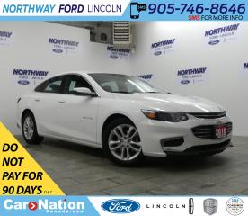 Used 2018 Chevrolet Malibu LT | PUSH START | BACKUP CAM | REMOTE START | for sale in Brantford, ON