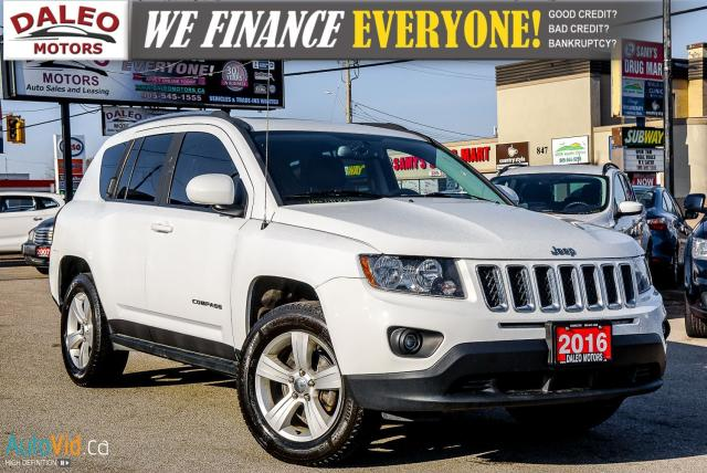2016 Jeep Compass High Altitude | AWD | HEATED SEATS | LEATHER |