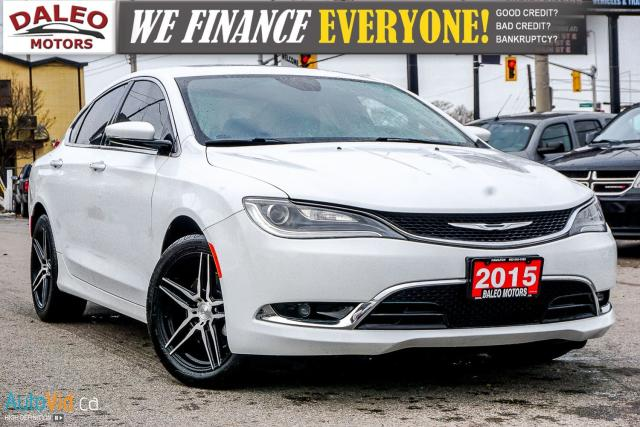 2015 Chrysler 200 C | V6 VVT | LEATHER | NAVI | + MORE UPGRADES!
