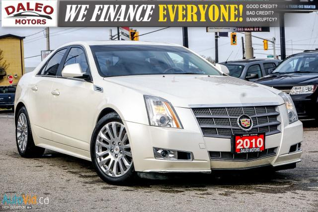2010 Cadillac CTS PERFORMANCE | AWD | HEATED SEATS | LEATHER | PANO