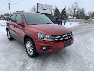 Used 2014 Volkswagen Tiguan Highline for sale in Komoka, ON