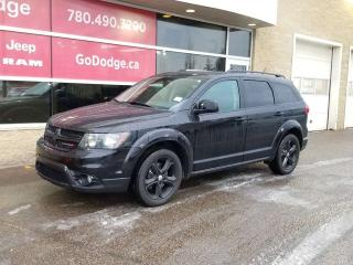Used 2015 Dodge Journey Crossroad / Sunroof / GPS Navigation / Back Up Camera for sale in Edmonton, AB