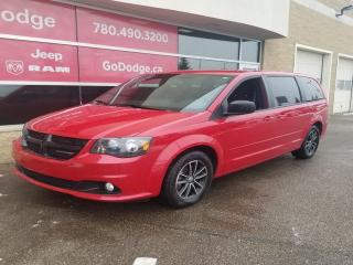 Used 2015 Dodge Grand Caravan SXT PLUS, REAR DVD, POWER SEAT, REAR CLIMATE, ALLOYS for sale in Edmonton, AB