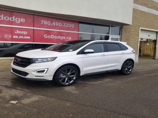 Used 2016 Ford Edge Sport AWD / Panoramic Sunroof / GPS Navigation for sale in Edmonton, AB