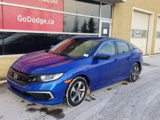 Used 2019 Honda Civic SEDAN LX for sale in Edmonton, AB