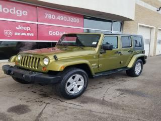 Used 2007 Jeep Wrangler Unlimited Sahara for sale in Edmonton, AB
