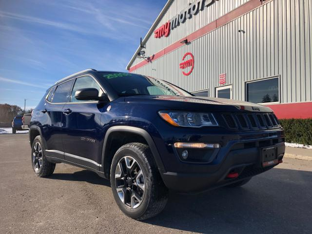2018 Jeep Compass Trailhawk, Navigation, 4WD