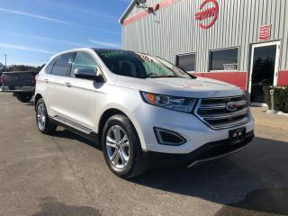 Used 2016 Ford Edge SEL with Navigation, Low kms! for sale in Tillsonburg, ON