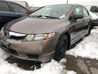 Used 2009 Honda Civic DX-G for sale in Pickering, ON