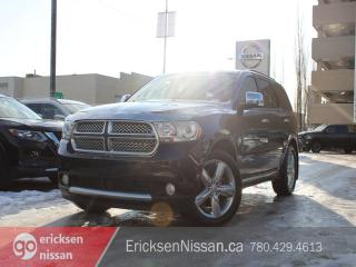 Used 2013 Dodge Durango CITADEL l AWD l Leather l Roof l Nav l Loaded! for sale in Edmonton, AB