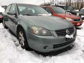 Used 2005 Nissan Altima 2.5 SL for sale in Pickering, ON