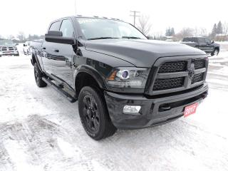Used 2017 RAM 2500 Laramie. Diesel. 4X4. Leather. Navigation for sale in Gorrie, ON