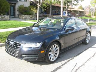 Used 2014 Audi A7 3.0L TDI AWD, LOW KMS, NO ACCIDENTS, DIESEL, CERT for sale in Toronto, ON