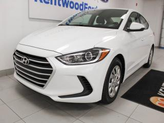 Used 2017 Hyundai Elantra LE with heated seats. Winter special for sale in Edmonton, AB