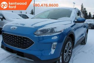 New 2020 Ford Escape SEL 301A 2.0L Ecoboost AWD, heated front seats, heated steering wheel, reverse camera/sensing system, remote vehicle start , Pre Collision Assist, Lane Keeping System, Tow Package, Voice Activated Tou for sale in Edmonton, AB