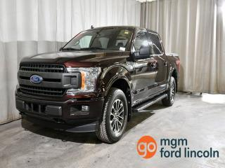 Used 2019 Ford F-150 XLT 4X4 SUPERCREW CAB 145 WB | FX4 OFF ROAD PACKAGE | XLT SPORT PACKAGE | TRAILER TOW PACKAGE | NAVIGATION | HEATED FRONT SEATS | BACKUP CAMERA for sale in Red Deer, AB