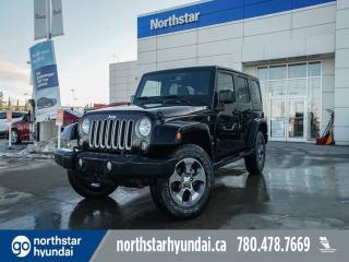 Used 2018 Jeep Wrangler JK Unlimited UNLIMITED SAHARA/NAV/POWEROPTIONS/HEATEDSEATS/AUTO for sale in Edmonton, AB