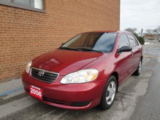Used 2006 Toyota Corolla ONE OWNER/NO ACCIDENTS/LOW KM 118K for sale in Oakville, ON