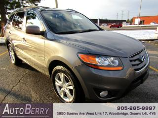 Used 2010 Hyundai Santa Fe Limited - AWD - 3.5L for sale in Woodbridge, ON