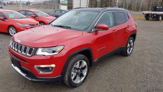Used 2018 Jeep Compass LIMITED for sale in Thunder Bay, ON