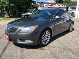 Used 2011 Buick Regal CXL/Certified/Automatic/Leather/Htd Seats/BT for sale in Scarborough, ON
