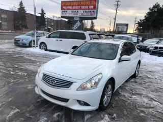Used 2012 Infiniti G37X  for sale in Toronto, ON