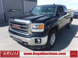 Used 2015 GMC SIERRA 1500 SLE DOUBLE CAB SWB 4WD 4.3L for sale in Calgary, AB