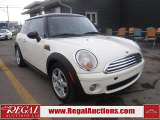Used 2010 MINI Cooper 2D Hatchback for sale in Calgary, AB